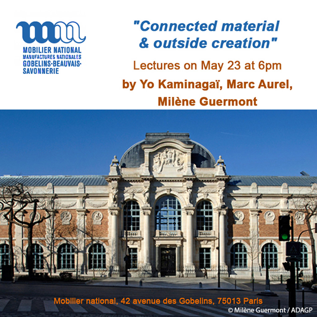 Lecture at the Mobilier national of France